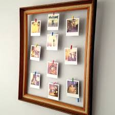 hanging picture frames ideas hanging picture ideas colorful paper garland wall hanging picture
