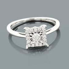 cheap diamond engagement rings for women affordable diamond engagement ring 10k 1 carat look