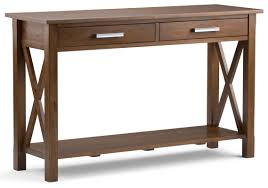 discount furniture kitchener simpli home kitchener console table reviews wayfair