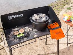 dutch oven cooking table dutch oven tables fe45 fe90 petromax