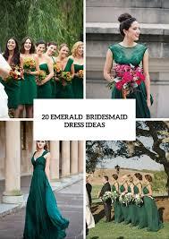 20 chic emerald bridesmaid dress tips for fall weddings decor