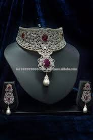 diamond sets images diamond necklace set with ruby buy bridal diamond necklace with