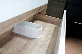 White Oak Furniture Duo 900mm White Oak Timber Wood Grain U0026 White Gloss Polyurethane
