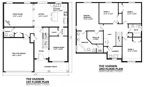 4 bedroom house blueprints two floor house design plans home deco plans