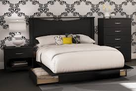 black bedroom sets for cheap amazon com south shore bedroom set step one collection black 4