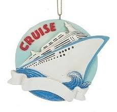 cruise ship travel ornament winterwood gift shoppes