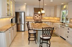 Dynasty Kitchen Cabinets by Dynasty Brookside Sq Maple Opaque Oyster Cognac Traditional