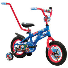 motocross push bike thomas 30cm bike 43313 big w