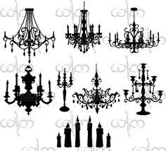 Black Chandelier Clip Art Gothic Clipart Chandelier Pencil And In Color Gothic Clipart