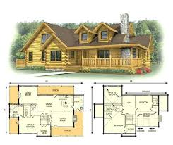 log cabin floor plans with loft cabin houseplans house plans log homes best log cabin floor plans