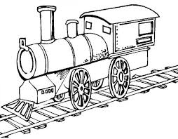 Steam Locomotive Coloring Pages Picture Of Old Steam Train Locomotive Coloring Page Netart by Steam Locomotive Coloring Pages