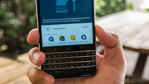 blackberry keyboard for android blackberry keyone review getting stuff done android authority
