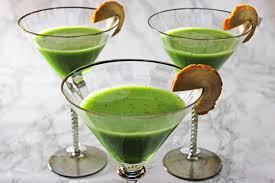 green cocktail matcha martinis supper in the suburbs