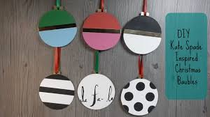 diy kate spade inspired ornaments for christmas from cardboard