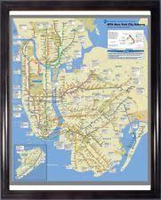 mta map subway subway map ebay