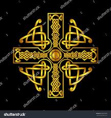 celtic cross tattoo designs celtic cross tattoosisolated vectors celtic cross stock vector