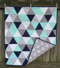 Navy Quilted Coverlet Best 25 Grey Quilt Ideas On Pinterest Baby Quilts Diy Modern