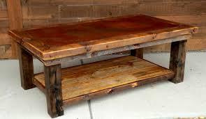 rustic solid wood coffee table best fulton rustic solid wood coffee table tables for plan top