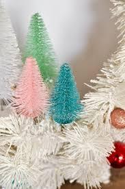 diy bottle brush tree wreath plus the easiest decorating tip