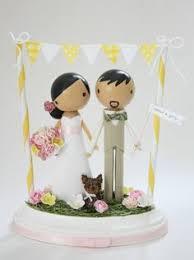 custom beach wedding cake topper with arch future wedding