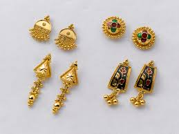 gold earrings tops ear tops beautiful gold earrings factory prices