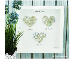 paper anniversary gifts for husband we me we married map print wedding gift paper anniversary