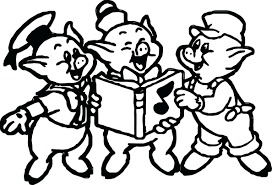 articles pigs coloring book pages tag