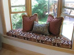 best custom window seat cushions design the window seat cushions