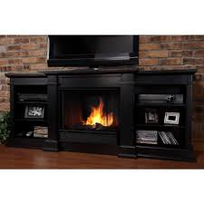 black electric fireplace tv stand fireplace ideas