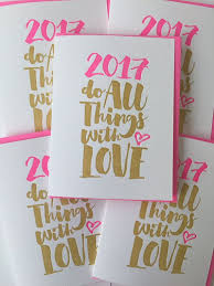cards for happy new year 2017 new year s card letterpress happy new year by delucedesign