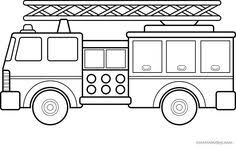 draw crane truck coloring pages drawing kids learn