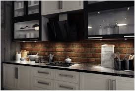 faux brick backsplash in kitchen kitchen make a perfect brick kitchen backsplash thin brick