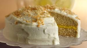 Coconut Cake Recipe Lemon Filled Coconut Cake Recipe Bettycrocker Com