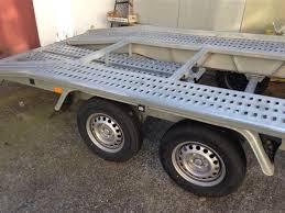 rimorchio porta auto usato rimorchio trasporto auto 27q li usato