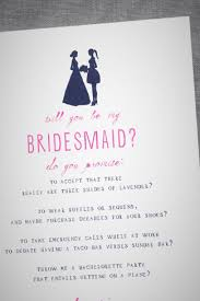 will you be my bridesmaid poem wedding a papered