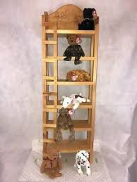 Baby Bunk Bed Vintage Wooden Beanie Babies Bunk Bed With 7 Ty Beanie Babies