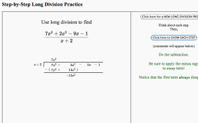 Dividing Polynomials Worksheet Tree Of Math