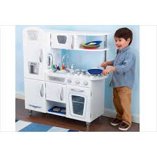 cuisine vintage blanche kidkraft cuisine pour enfant en bois vintage blanche de kidkraft