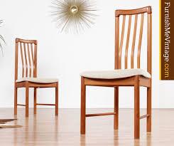 Ergonomic Dining Chairs Ergonomic Benny Linden Teak Dining Chairs