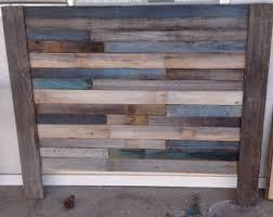 Reclaimed Wood Headboard Reclaimed Wood Headboard Queen Etsy