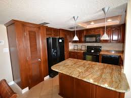 penthouse 3br 3ba updated condo directly o vrbo updated kitchen with new cabinets and granite countertops