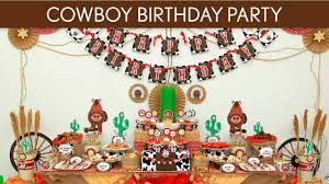dallas cowboy themed birthday party home party ideas