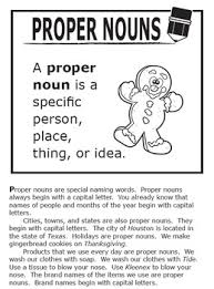 nouns activities complete lesson and full color poster l 2 2a