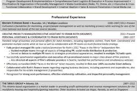 Sample Event Manager Resume by Event Project Manager Resumes Reentrycorps