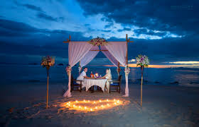 romantic dinner on koh samui thailand wedding planner magic day