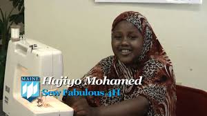 4 h sewing program for somali women in lewiston maine youtube