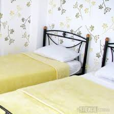 Floral Wall Stencils For Bedrooms 55 Best Flower Stencils And Modern Floral Stencils From The