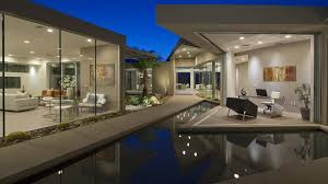 behind the gates modern contemporary desert house palm springs