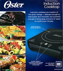 How Induction Cooktop Works Oster Personal Induction Cooktop 1 0 Ct Walmart Com