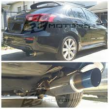ricer car exhaust amazon com mitsubishi lancer 2012 13 14 15 16 4dr 5dr de es